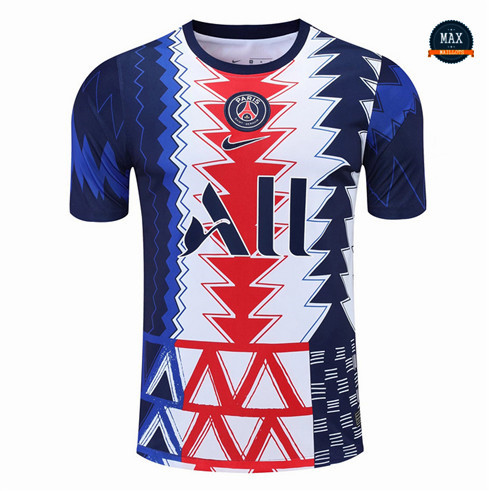 Max Maillot PSG Pre-Match training 2021/22