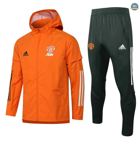 Max Coupe vent Manchester United Orange 2021/22