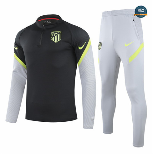 Max Veste Survetement Champions League Atletico Madrid Noir 2021/22 Shop Online