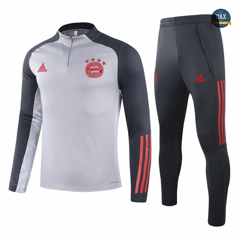Max Veste Survetement Champions League Bayern Munich Gris 2021/22 fiable