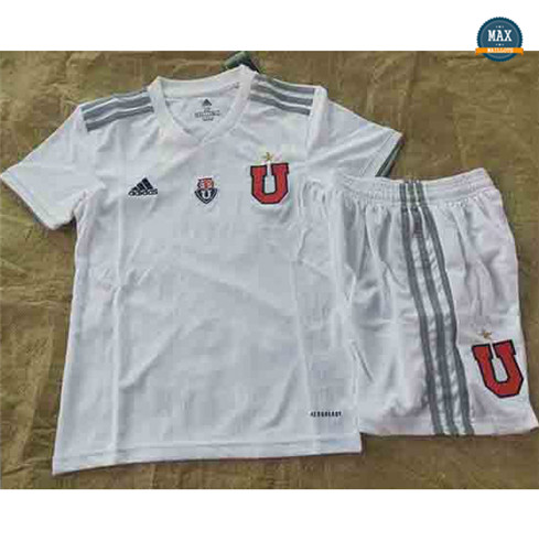 Max Maillot University of Chile Enfant Exterieur 2020/21 Blanc