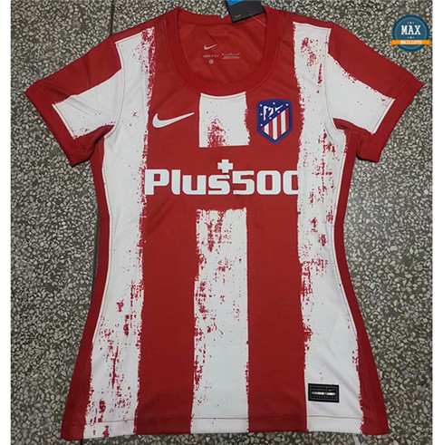 Max Maillot Atletico Madrid Domicile Femme 2021/22
