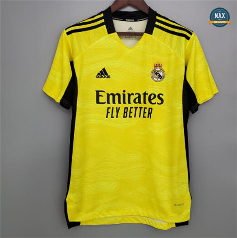 Max Maillots Real Madrid Jaune gardien de but 2021/22