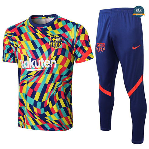 Max Maillot Barcelone + Pantalon 2021/22 Training Couleur