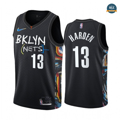 Max Maillots James Harden, Brooklyn Nets 2020/21 - City Edition