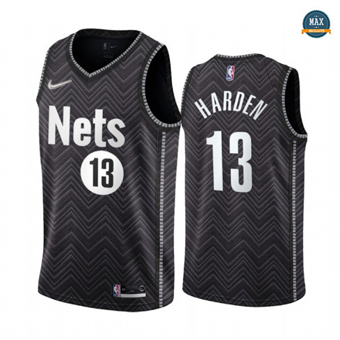 Max Maillots James Harden, Brooklyn Nets 2020/21 - Earned Edition