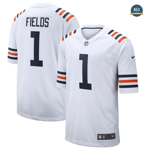 Max Maillot Justin Fields, Chicago Bears - White