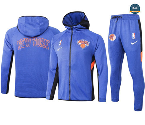 Max Maillots Survetement New York Knicks - Blue