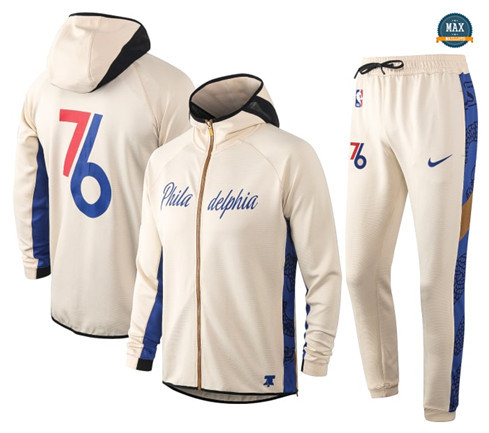 Max Maillot Survetement Philadelphia 76ers - Cream
