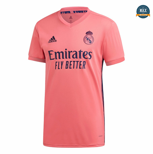 Max Maillots Real Madrid Exterieur Orange 2020/21 pas cher