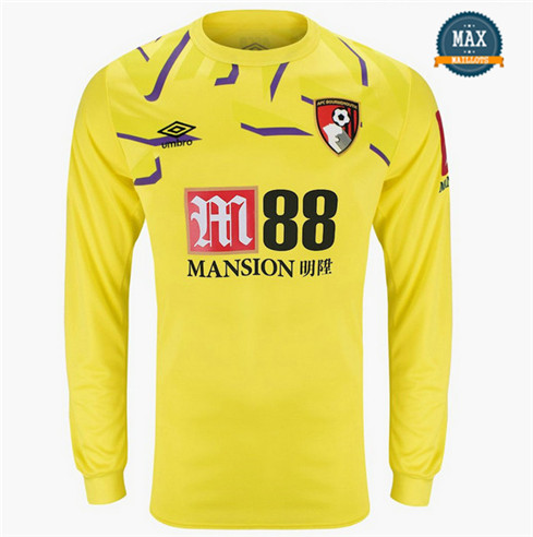 Maillot Bournemouth 2019/20 Gardien de but Manche Longue Jaune