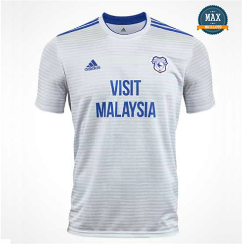 Maillot Cardiff City Exterieur 2018/19 Blanc