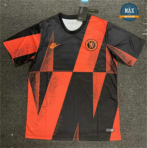 Maillot Chelsea 2019/20 Training Orange/Noir