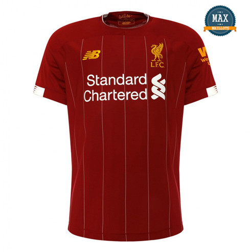 Maillot Liverpool Domicile 2019/20 Rouge