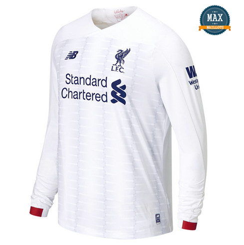 Maillot Liverpool 2019/20 Manche Longue Blanc