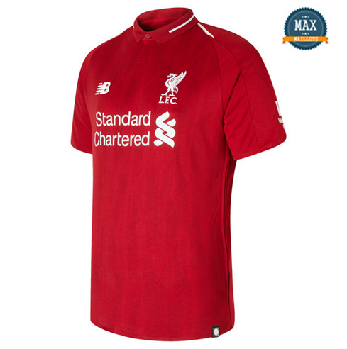 Maillot Liverpool Domicile 2018/19 Rouge