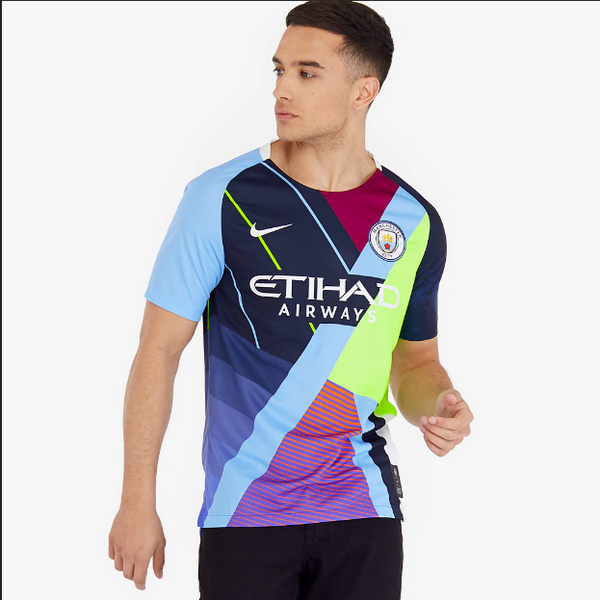 Maillot Manchester City Sixth anniversary