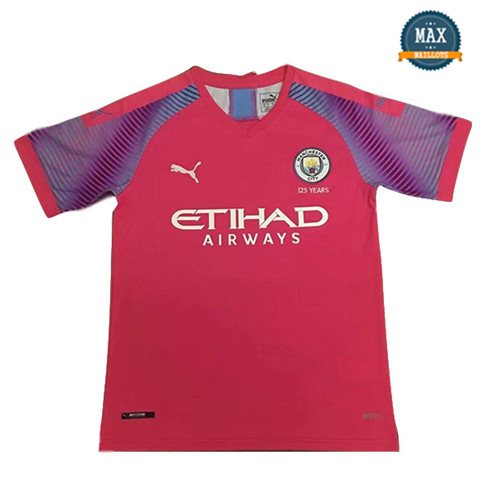 Maillot Manchester City Gardien de but Orange 2019/20