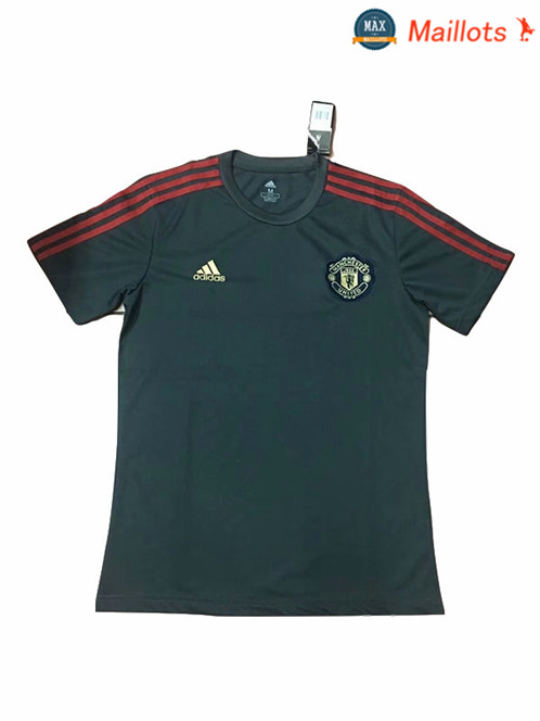 Maillot Manchester United Entrainement Gris fonce 2018/19