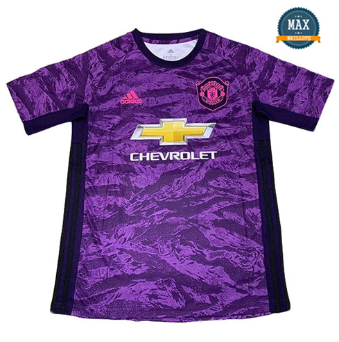 Maillot Manchester United Gardien de but Pourpre 2019/20
