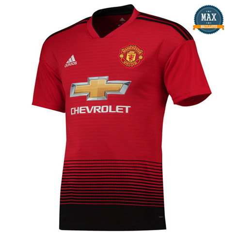 Maillot Manchester United Domicile 2018/19 Rouge