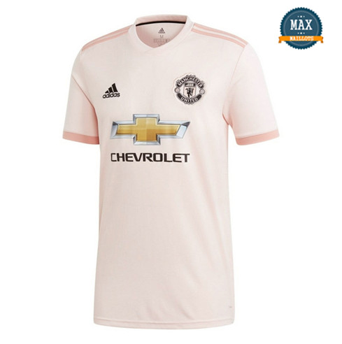 Maillot Manchester United Exterieur 2018/19 Rose