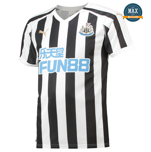 Maillot Newcastle United Domicile 2018/19 Blanc/Noir
