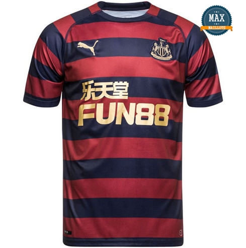 Maillot Newcastle United Exterieur 2018/19 Rouge/Bleu