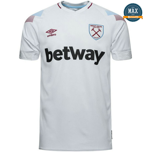 Maillot West Ham United Third 2018/19 Blanc