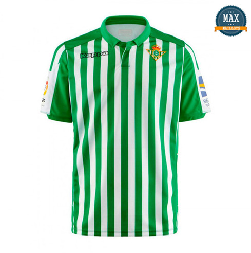 Maillot Real Betis Domicile 2019/20 Vert