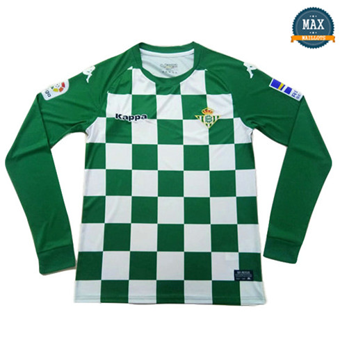 Maillot Real Betis limited edition Vert Manche Longue 2019/20