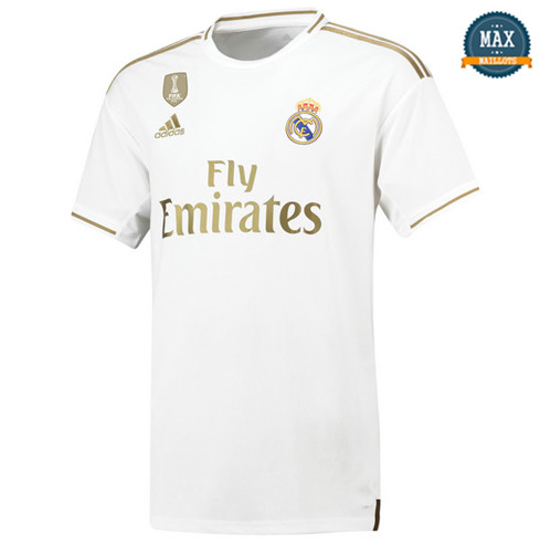 Maillot Real Madrid Domicile 2019/20 fans Blanc