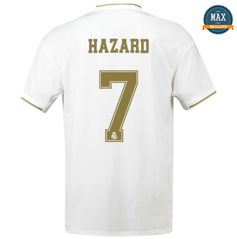 Maillot Real Madrid Domicile 2019/20 Blanc Hazard 7