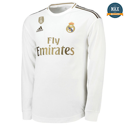 Maillot Real Madrid Domicile 2019/20 Manche Longue