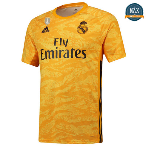 Maillot Real Madrid Gardien de but Jaune 2019/20