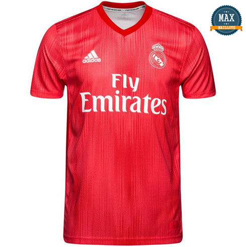 Maillot Real Madrid Third 2018/19 Rouge