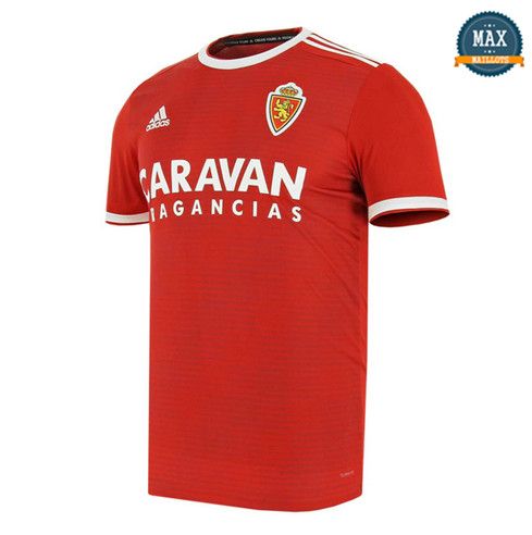 Maillot Real Saragosse Exterieur 2018/19 Rouge
