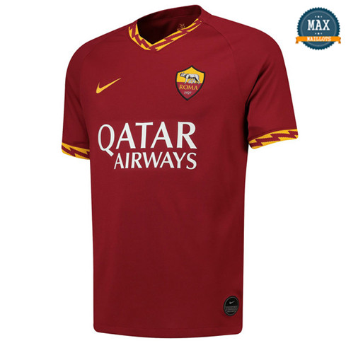Maillot AS Roma Domicile 2019/20 Jujube Rouge