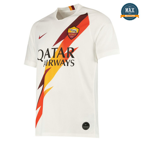 Maillot AS Roma Exterieur 2019/20 Blanc
