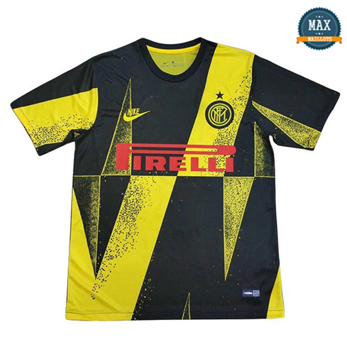 Maillot Inter Milan champions league edition Noir/Jaune 2019/20