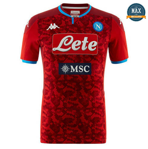 Maillot Naples Gardien de but Domicile 2019/20 Rouge