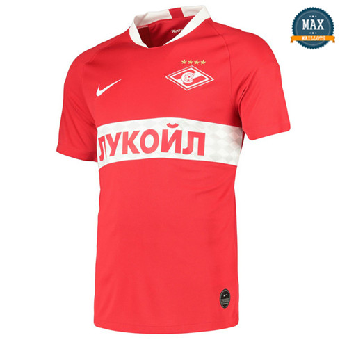Maillot Spartak Moscou Domicile 2019/20 Rouge
