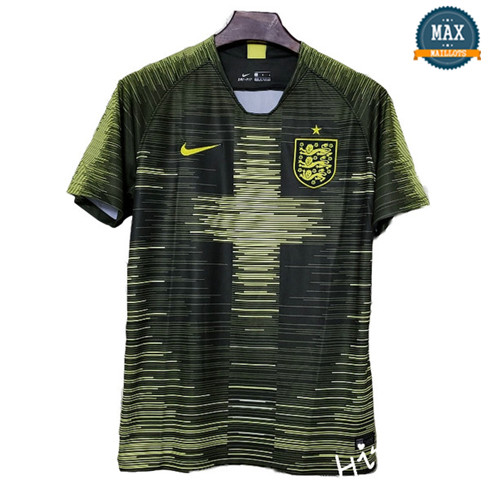 Maillot Angleterre Entrainement Vert 2018/19