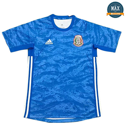 Maillot Mexique Gardien de but Bleu 2019/20