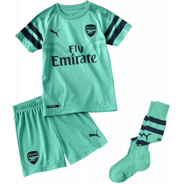 Maillot Arsenal Third 2018/19 Enfant Bleu