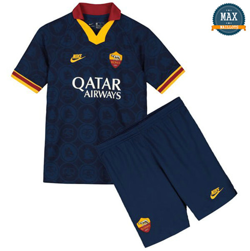 Maillot AS Roma Enfant Third 2019/20