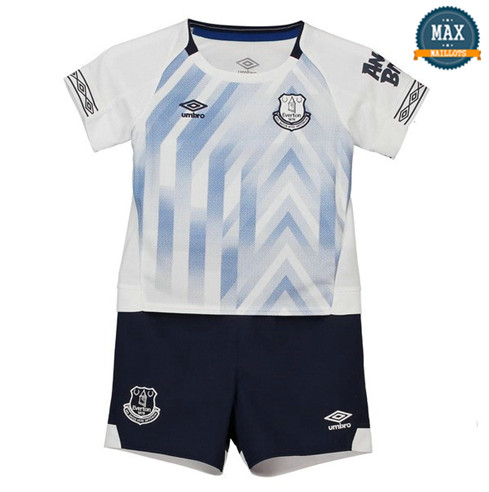 Maillot Everton Third 2018/19 Enfant Blanc