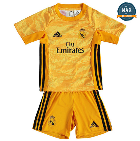 Maillot Real Madrid Enfant Jaune 2019/20