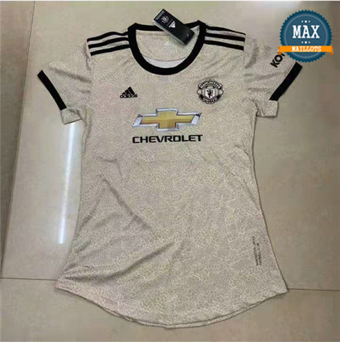 Maillot Manchester United Femme Exterieur 2019/20