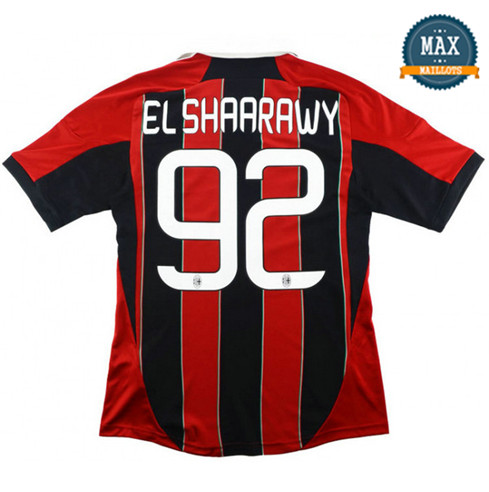Maillot Retro 2012-13 AC Milan Domicile (92 Shaarawy)